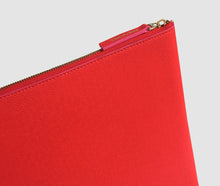 Load image into Gallery viewer, Laptop Case (red/cerise) - 10 - 12 inch