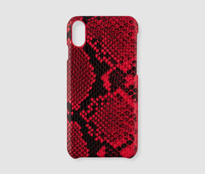 iPhone XS Max Case - Red Snake