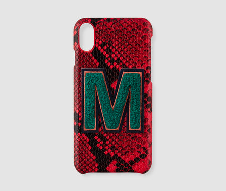 Iphone X Case - Red Snake