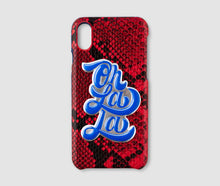 Load image into Gallery viewer, Iphone X Case - Red Snake