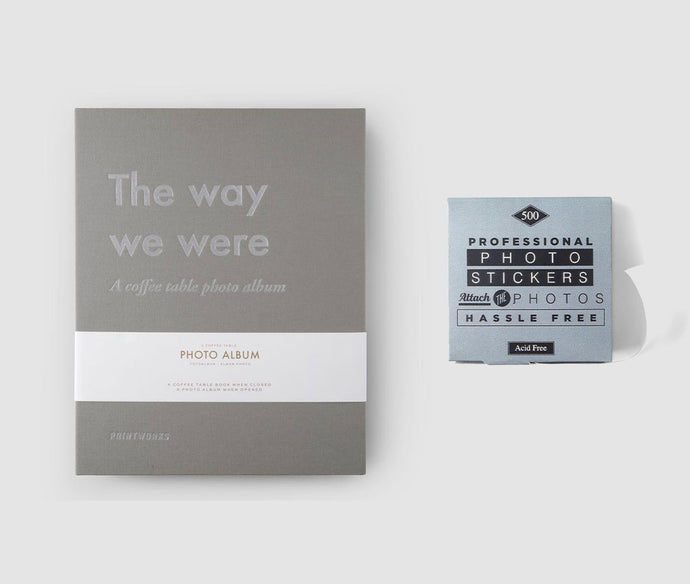 The Way We Were Album & Stickers Bundle