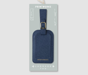 Luggage tag - Blue
