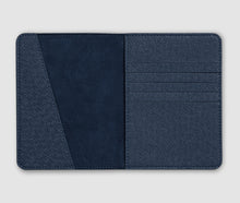 Load image into Gallery viewer, Passport holder - Blue