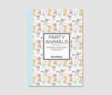 Load image into Gallery viewer, Party Animals - Gift Wrapping Paper Book