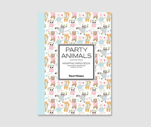 Party Animals - Gift Wrapping Paper Book