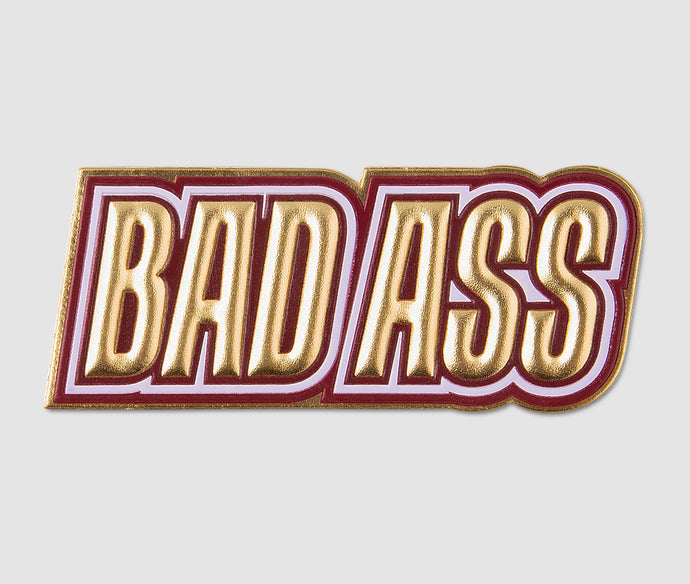 Sticker - BADASS Gold