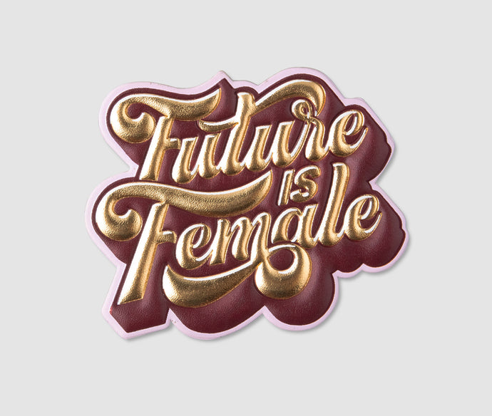 Sticker - FutureIsFemale Gold