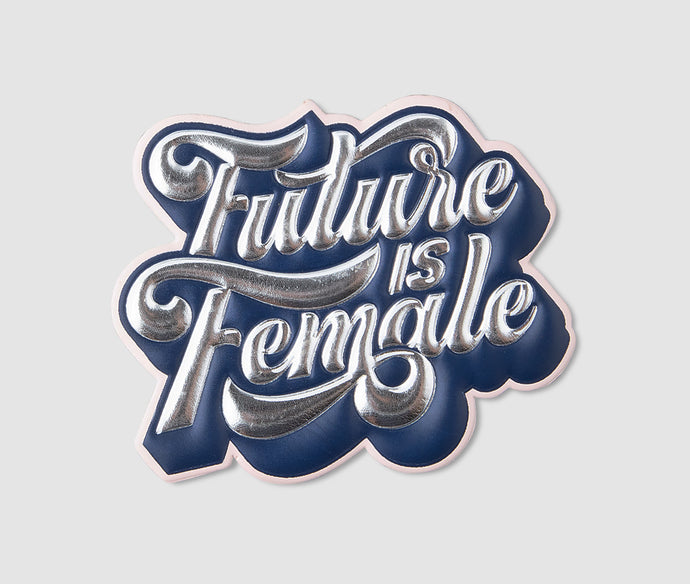Sticker - FutureIsFemale Silver