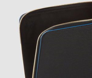 Laptop Case (Black/Blue) - 10-12 inch