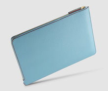 Load image into Gallery viewer, Laptop Case (lightblue/burgundy) - 13-15 inch
