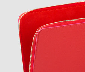 Laptop Case (red/cerise) - 10 - 12 inch