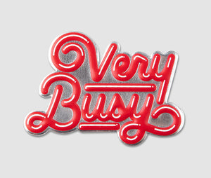 Sticker - VeryBusy Red