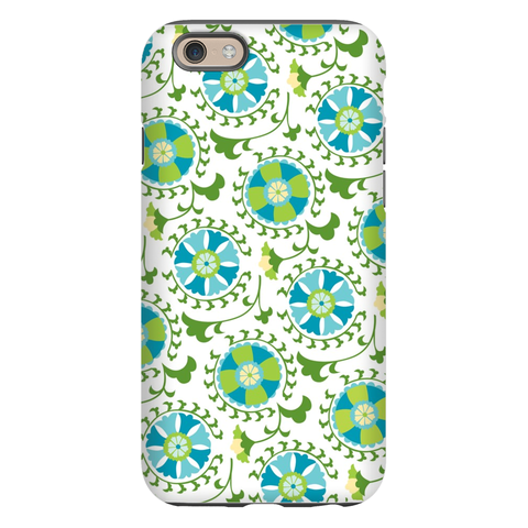 Suzani Teal Phone Case