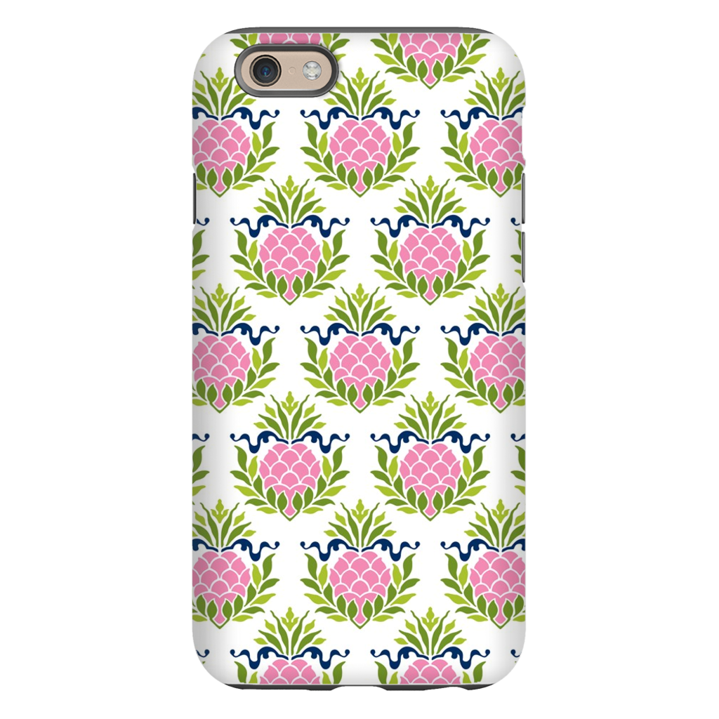 Pineapples Pink Phone Case
