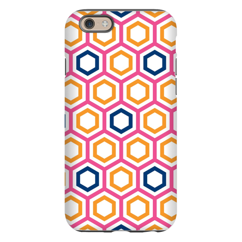 Maggie Raspberry & Tangerine Phone Case