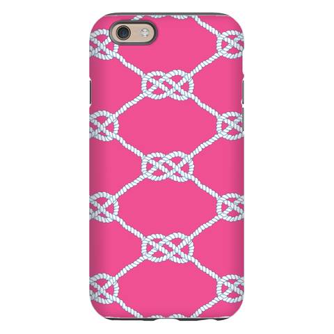 Nautical Knot Raspberry Phone Cases