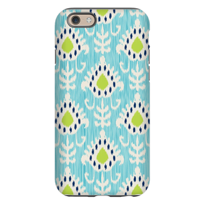 Mia Ikat Teal Phone Case