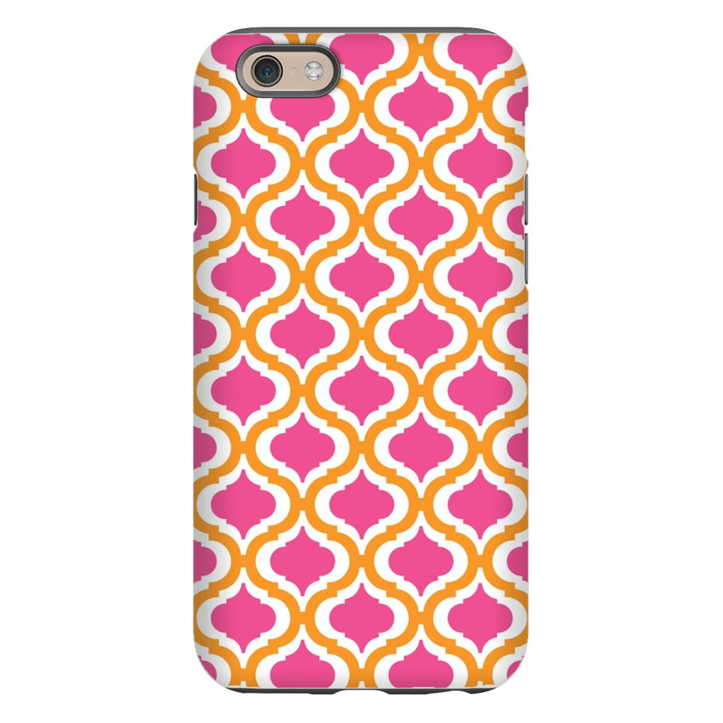 Kate Tangerine and Raspberry Phone Case