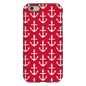 Anchors Red Phone Case