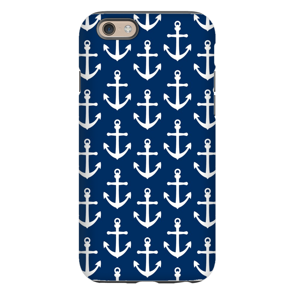 Anchors Navy Phone Case