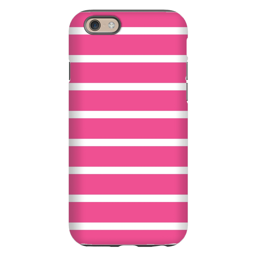 Sailor Stripe Pink Phone Case