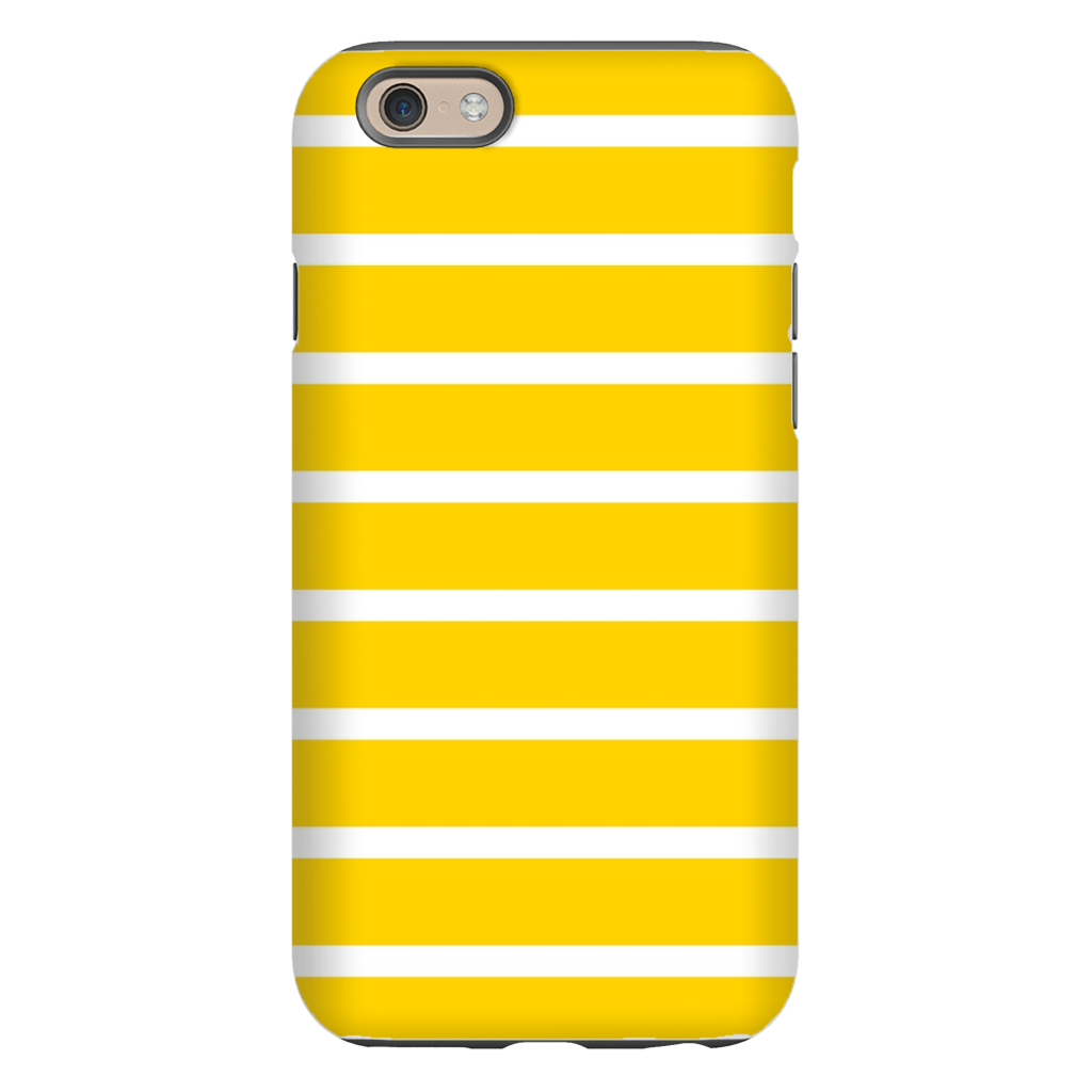 Sailor Stripe Yellow Phone Cases
