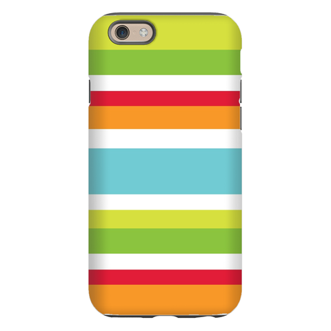 Espadrille Stripe Bright Phone Case