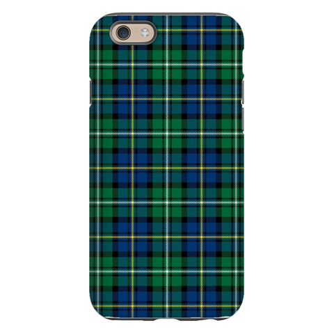 Black Watch Plaid Phone Case