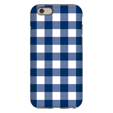 Classic Check Navy Phone Case