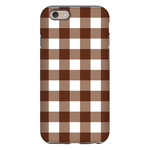 Classic Check Brown Phone Case