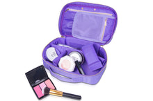 Load image into Gallery viewer, Mini Travel Makeup Bag with Mirror
