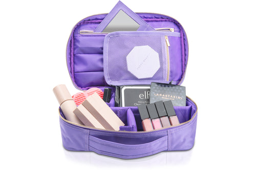 Mini Travel Makeup Bag with Mirror