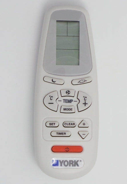 Original YORK Air Conditioner Remote Control   RC-5   975-511-00  PN:031T33001-001 - Remote Control Warehouse