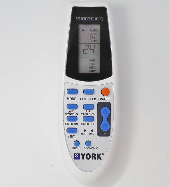 YORK Air Conditioner Remote Control -  R91/BGCE - Remote Control Warehouse