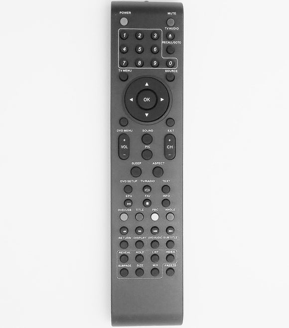 REPLACEMENT Dick Smith Remote Control -   GE6600 GE6601 GE6602 GE6603 GE6606 GE6607 GE6608 GE6807  Dick Smith TV - Remote Control Warehouse