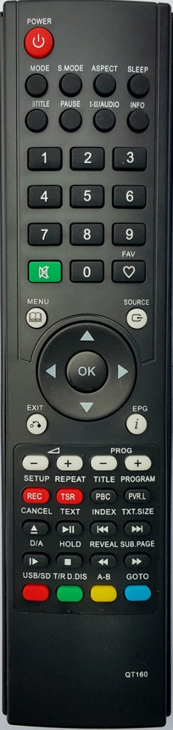 REPLACEMENT OKANO REMOTE CONTROL - LTV3203F LTV4200F LTV5500F LCD TV