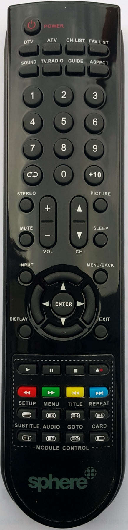 ORIGINAL SPHERE REMOTE CONTROL 90005350 - CTC-A22LCDTVDVD LCD TV