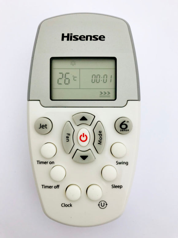 HISENSE AIR CONDITIONER HFR0922 REMOTE CONTROL