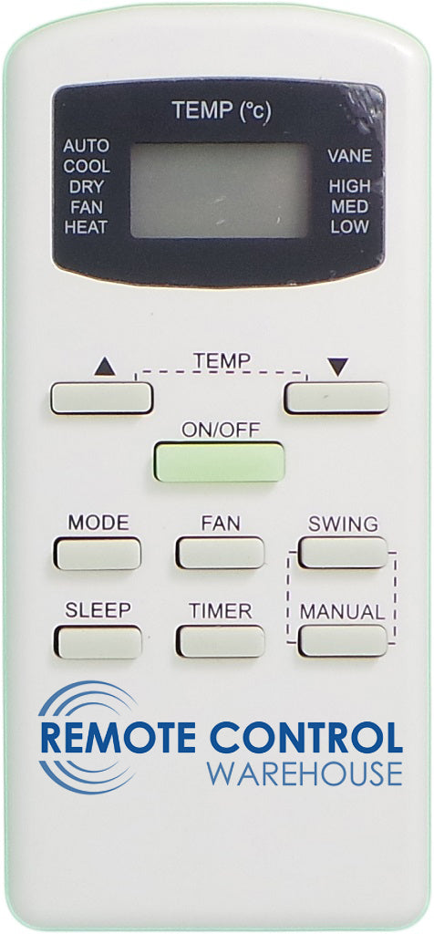 Galanz Air Conditioner Remote Control  - GZ-20B-E1 - Remote Control Warehouse