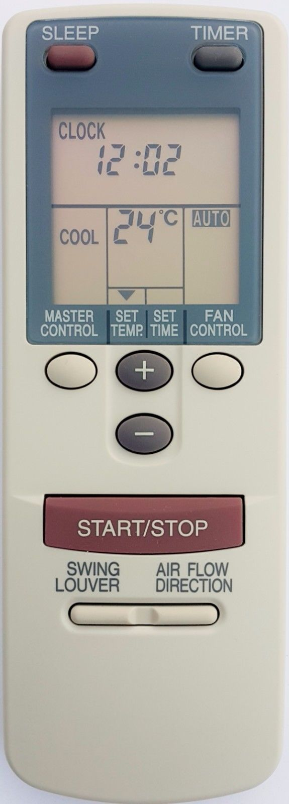 Original Fujitsu Air Conditioner Remote Control  AR-DB1 ARDB1 - Remote Control Warehouse