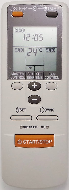 Original Fujitsu Air Conditioner Remote Control Substitute   AR-JW17 ARJW17 - Remote Control Warehouse