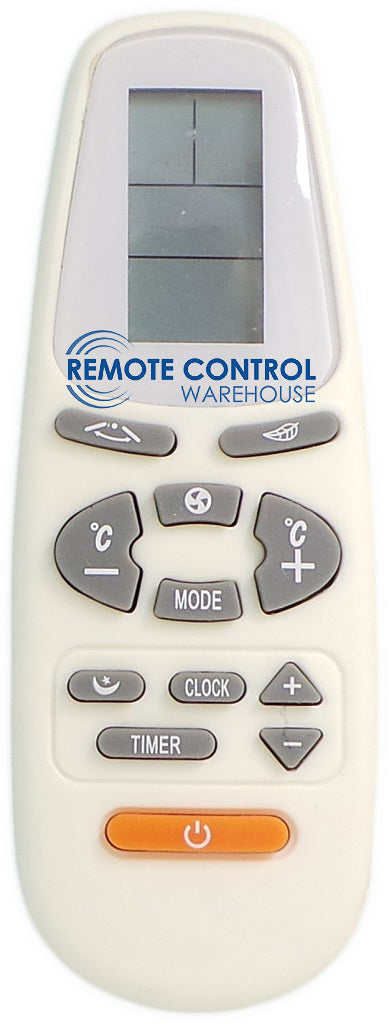 AUX AIR CONDITIONER REMOTE CONTROL YKR-C/02JE - Remote Control Warehouse