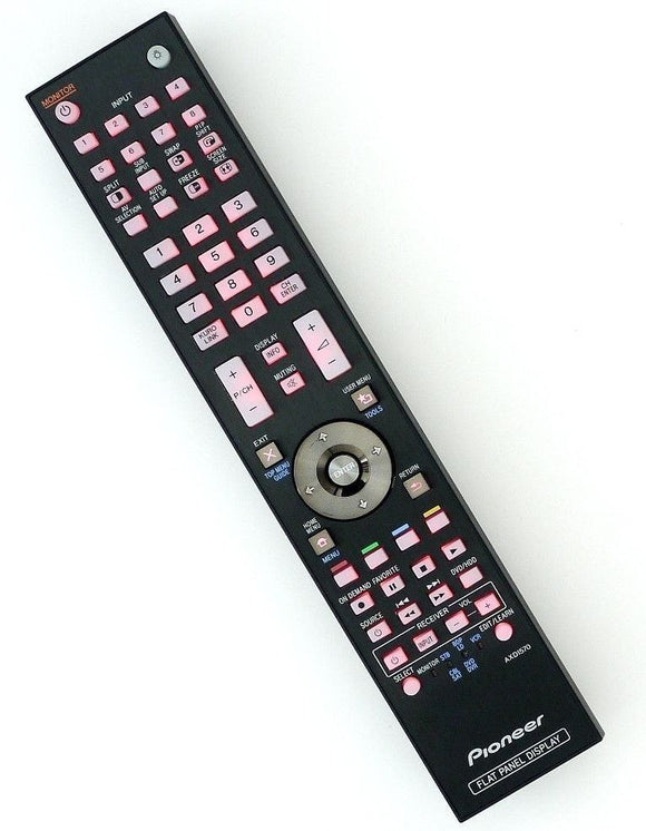 ORIGINAL PIONEER REMOTE CONTROL AXD1570 - PDPC508A  PDPC509A FLAT PANEL DISPLAY