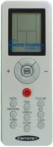 Carrera Air Conditioner Remote Control - ZH/GT-01 - Remote Control Warehouse
