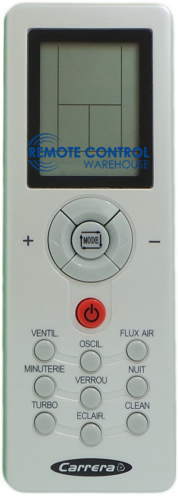 Carrera Air Conditioner Remote Control - ZH/GT-01