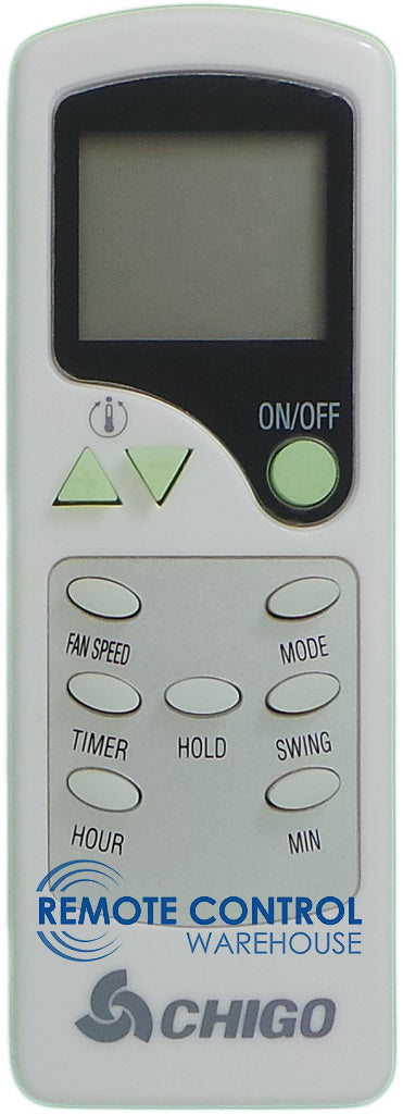 CHIGO Air Conditioner Remote Control - ZH/LW-04  ZH/LW04 - Remote Control Warehouse