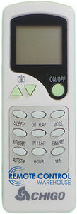 CHIGO Air Conditioner Remote Control - ZH/LW-10 ZH/LW-10 - Remote Control Warehouse