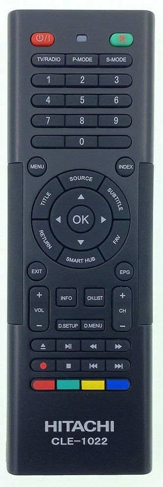 ORIGINAL HITACHI REMOTE CONTROL CLE-1022 CLE1022 -  UZ657000  7000 SERIES SMART TV