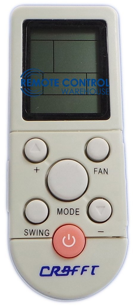CONIA AIR CONDITIONER CA18003 REMOTE CONTROL