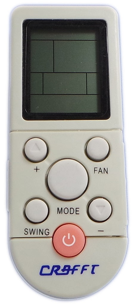 REPLACEMENT TRANSCO  AIR CONDITIONER REMOTE CONTROL - YKR-F/04J